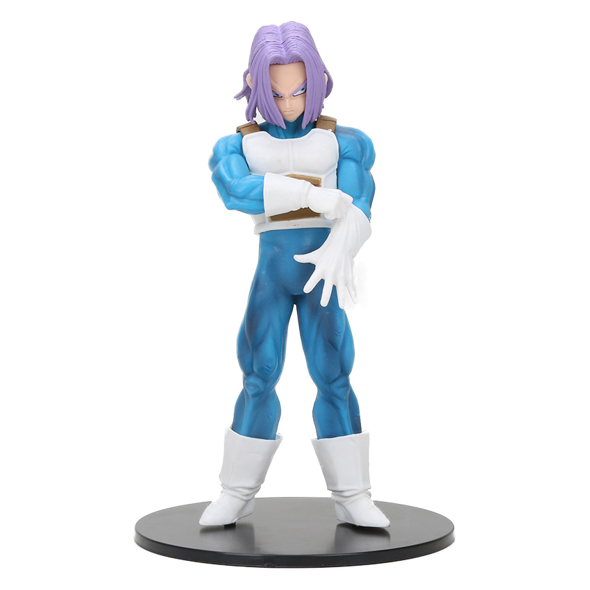 8-30 см Dragon Ball Z SCultures, большая серия Budoukai, фигурка из лазурита, наппа, радиц, Гоку, плавки, Вегета, сатана, Коллекционная модель - Цвет: purple hair trunks