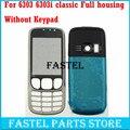 Новый Полный Телефон Случая крышки Снабжения Жилищем + (Без Клавиатуры) для Nokia 6303c 6303 classic 6303ci 6303i классический + Инструменты Бесплатная доставка