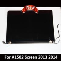 Новый A1502 ЖК экран в сборе дисплей для MacBook Pro retina 13 2013 2014 2560X1600 глянцевый экран 661 8153