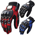 3 Colors Pro-biker Motorcycle Bike Full Finger Performance Gloves Motocross Off-road Sports Gloves Racing Knight Protective