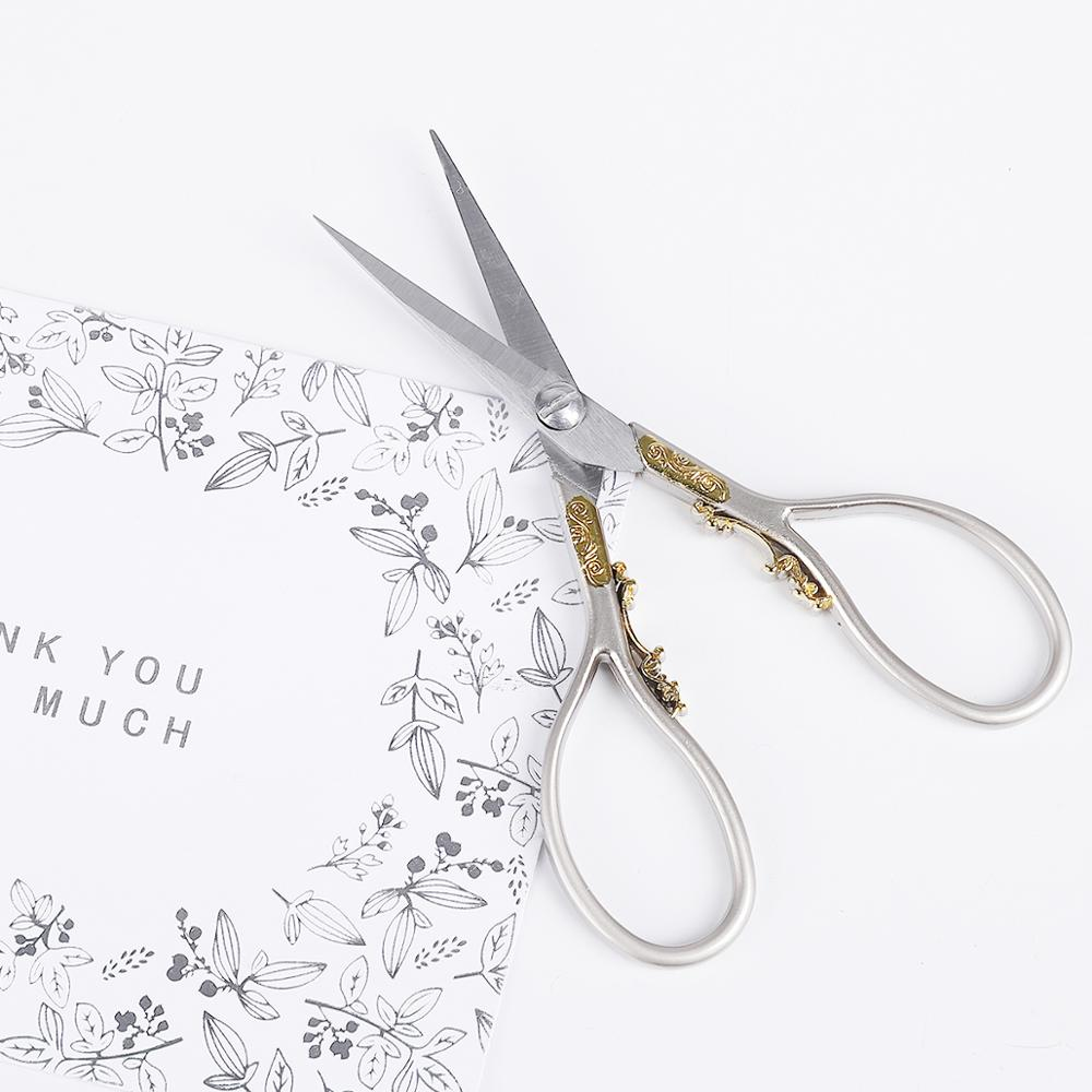 2019 New Stainless Steel Vintage Classic Sewing Scissor Tailor Scissors Household Tailor Sewing Scissor Jewelry Tool(China)