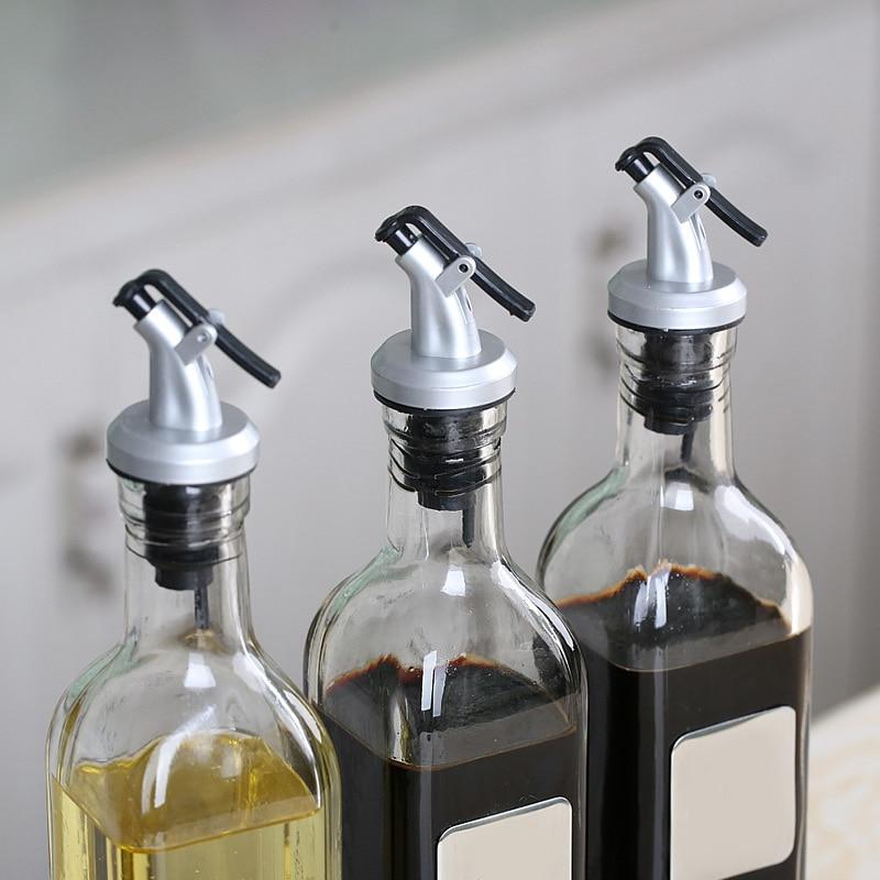 Wine-Bar-Accessories Nozzle Cork-Dispenser Wine-Bottle-Pourer Olive-Oil 1pc Mouth