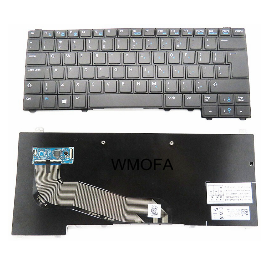 S-u-p-e-r Laptop parts Store UI Black New English Replace laptop keyboard For DELL For Latitude E5440 E5450 Y4H14