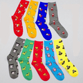 2 pairs Avenger Union socks US captain Batman Wolverine Iron Man men and women socks Man Adult size 21cm  H543