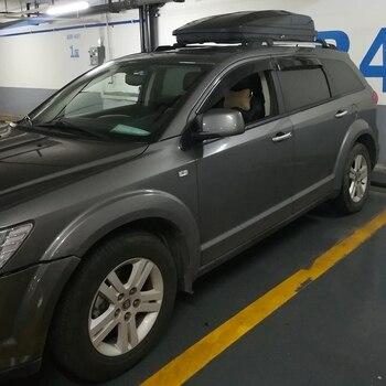 Fit For Dodge Journey 2010 2011 2012 2013 2014 2015 4PCS/SET Window Visor Vent Shades Sun Rain Deflector Guard Auto Accessories