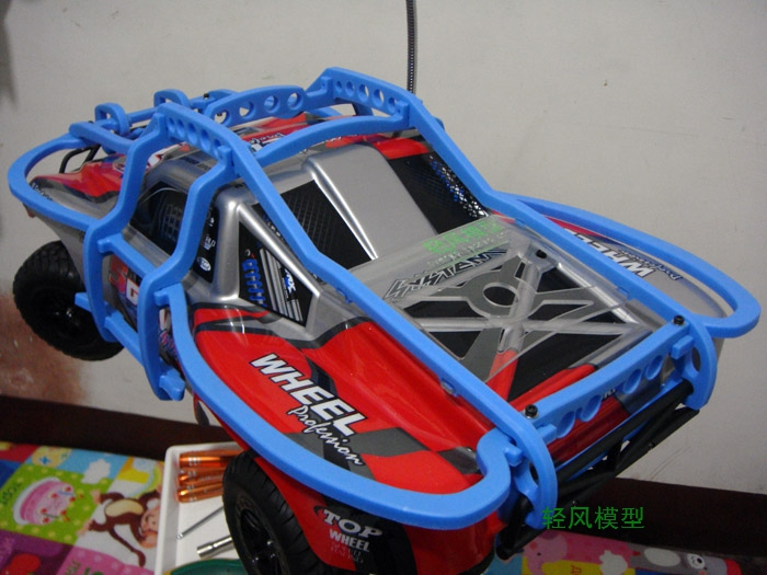 rc car parts ,Remote control car roll cage, Protective cover Imported nylon production Suitable for TRAXXAS Slash or Slayer pro slayer pro