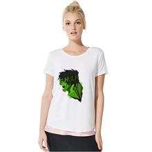 Hulk/Deadpool/Thanos Marvel Superhero Summer Plus Size Loose O-NECK Modal Short Sleeve Womens Funny Fashion Casual A193291