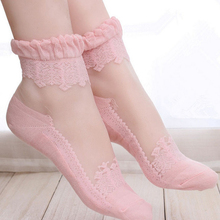 85a43af0ab791 Buy transparent pink socks and get free shipping on AliExpress.com