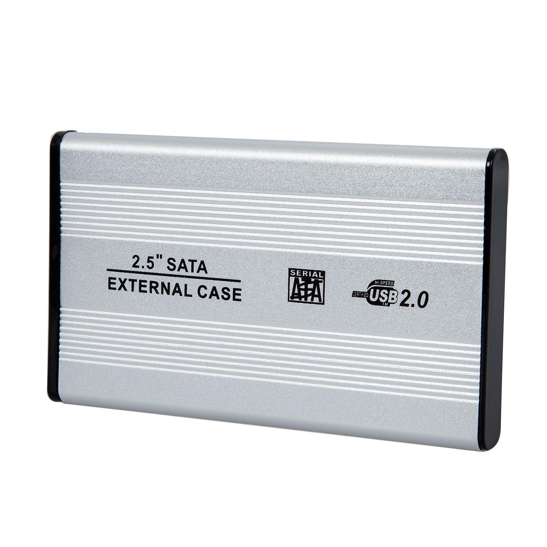 New Superior Practical Plastic 2 5 USB 2 0 SATA Hard Drive HDD Case Enclosure