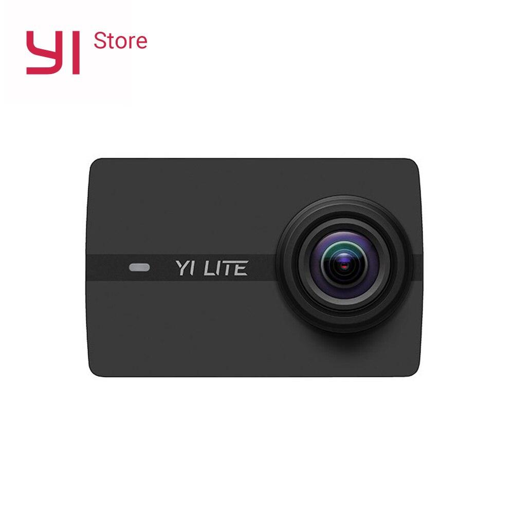 YI Lite caméra d'action sport caméra 16MP 2 pouces écran LCD réel 4 K avec WIFI intégré 150 degrés grand Angle lentille Version mondiale