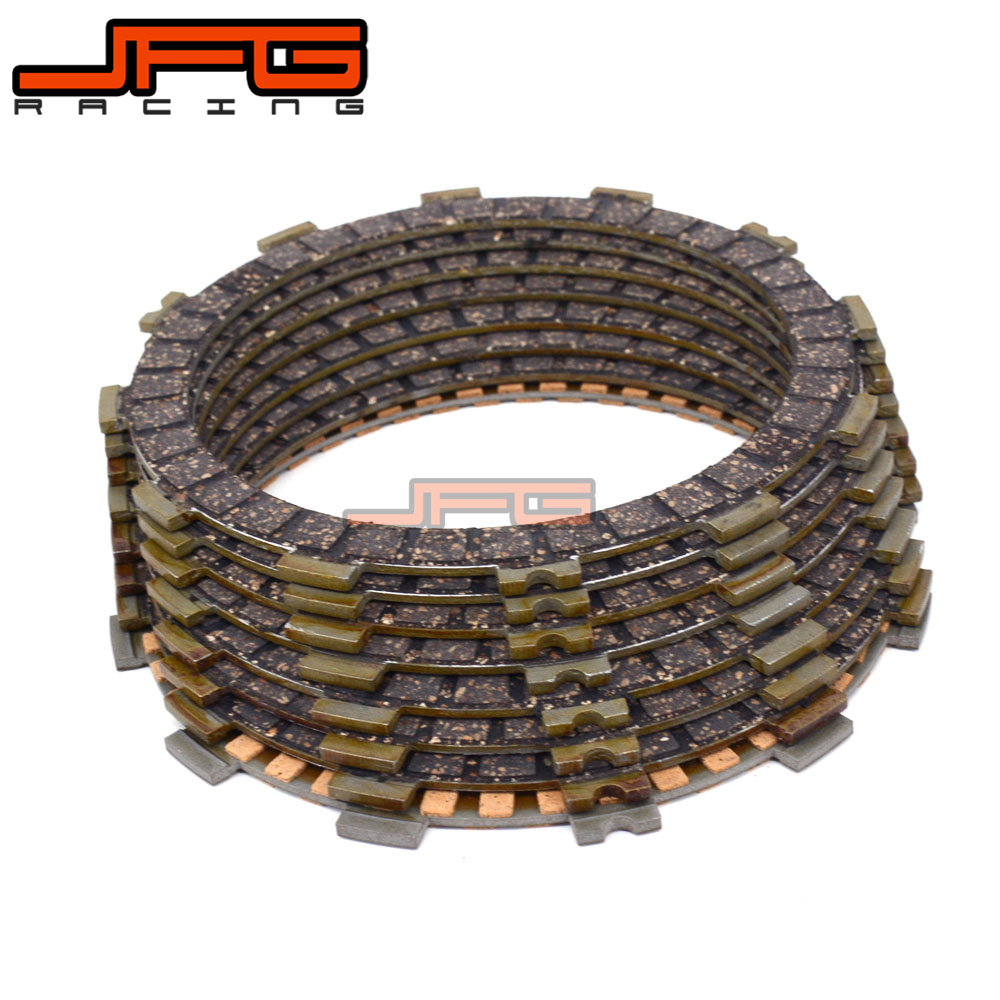 Motorcycle Friction Clutch Plates Disc For <font><b>SUZUKI</b></font> <font><b>GSX600F</b></font> 1998 <font><b>1999</b></font> 2000 2001 2002 2003 2004 05 06 GR650 GR650X GSX750F GSXF750 image