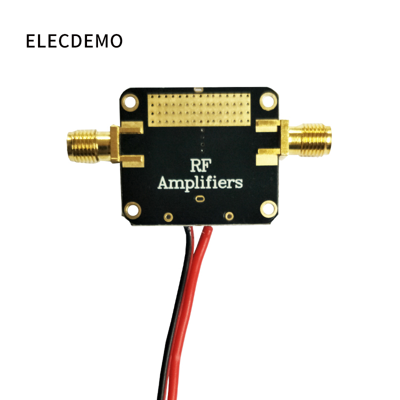 Image 2 - RF Amplifier Low Noise LNA Broadband 10M 8GHz Gain 12dB Flatness Good Function demo Board-in Demo Board Accessories from Computer & Office