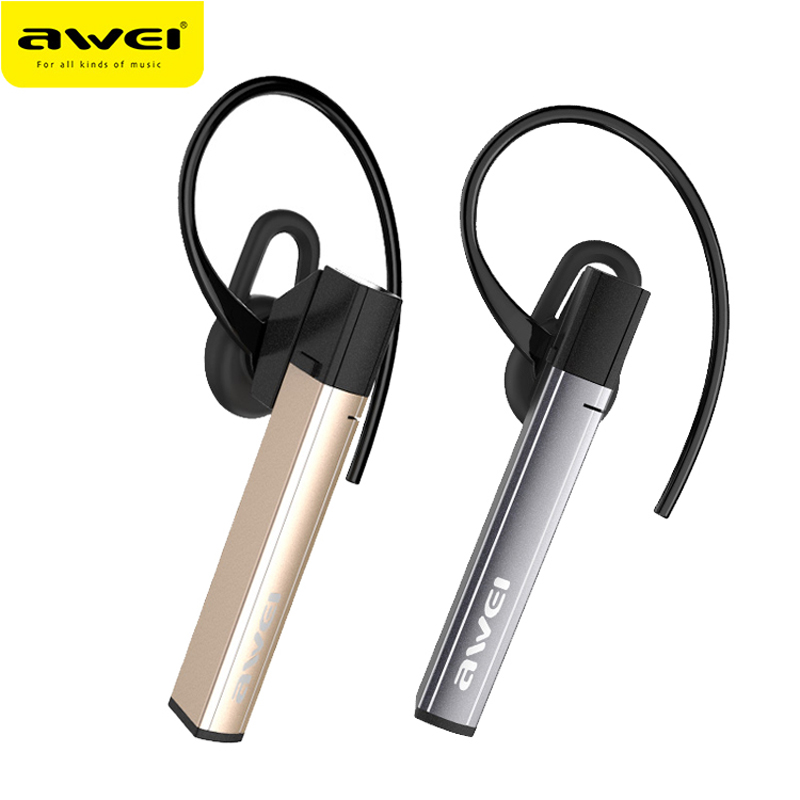 Awei A831BL Wireless Earphone Bluetooth Headphones Hands Free With Microphone For Phones Auriculares Headset Ecouteur Ecouteur airersi k6 business bluetooth headset smart car call wireless earphone with microphone hands free and headphones storage box