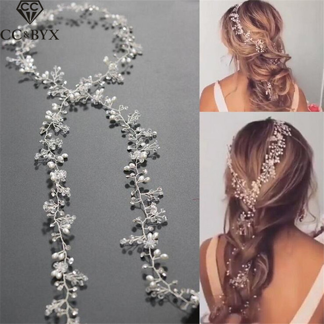 CC Jewelry Wedding Headband Head Crowns Flower Party Wedding Hair Accessories Fo