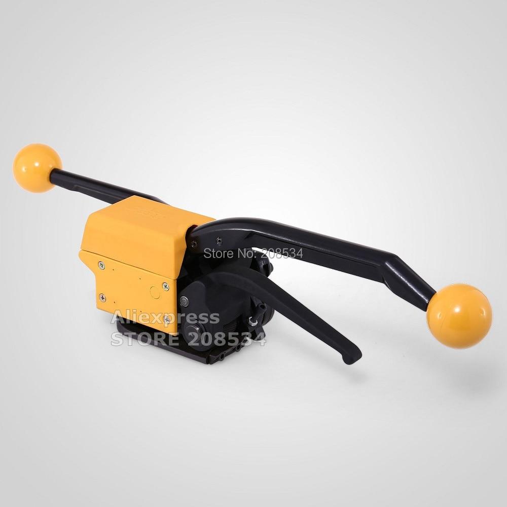 Reggiatrice automatica senza saldatura A333 garantita al 100%, macchina confezionatrice per reggia manuale per cinturino in acciaio 13-19mm