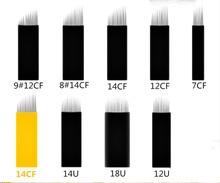 Biomaser 20Pcs Disposable Microblading Needles for Pen Pernement Makeup Eyebrow Micro Needling Supplies