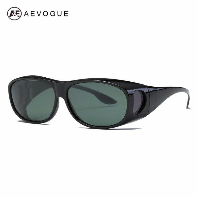 19ccefbd7b AEVOGUE Polarized Sunglasses mens Over-The-Glass Safety Glasses Suncover  Myopia Polaroid Lens Unisex UV400 AE0509