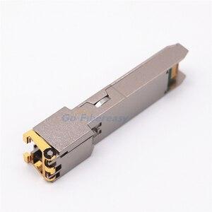 Image 4 - Sfp rj45 기가비트 모듈 1000mbps tx sfp rj45 구리 스위치 모듈 cisco/mikrotik sfp 광섬유 기가비트 모듈과 호환 가능