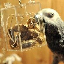 Parrot Bird Toy Hang Foraging Pet Treat Hunt Macaw Cockatoo Budgie Bird Food Feeder Bird Cage Decoration Intellectual Parrot Toy