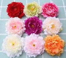 15 יח\חבילה 13cm מלאכותי שמח אדמונית משי פרחים מזויף פלורס Artificiais מסיבת חתונת קישוט בית DIY נוף סיטונאי