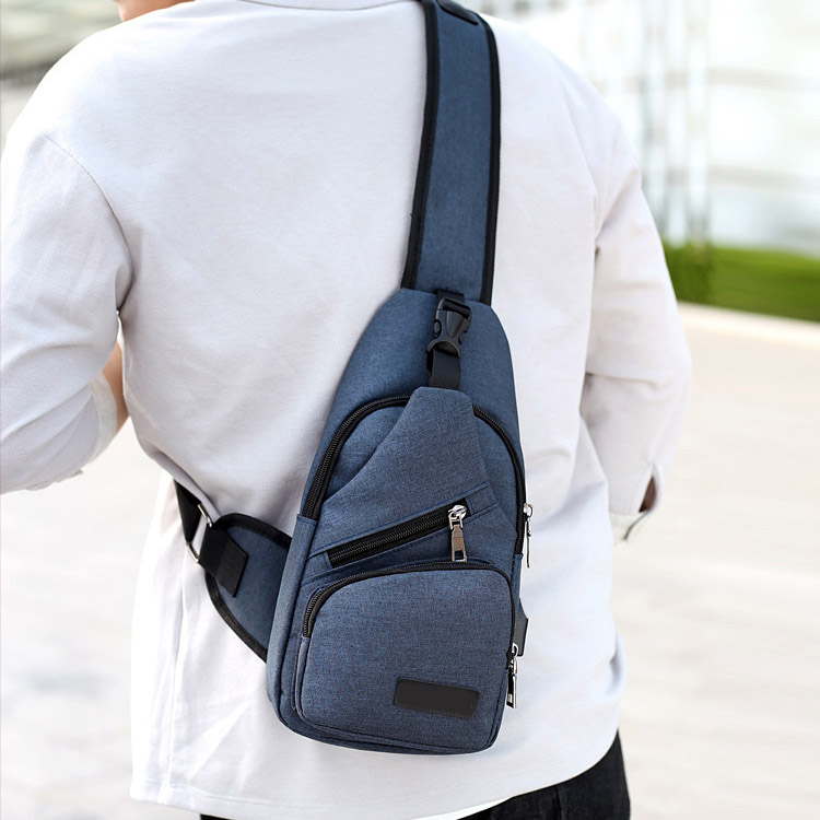 Fashion Men Shoulder Bag Usb Charge Anti Theft Security Waterproof Travel Man Crossbody Messenger Casual Bag Lby2017 #6