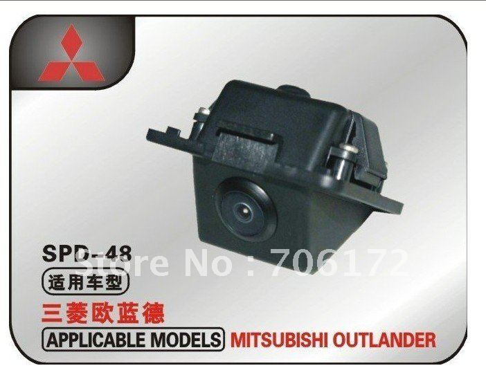 Factory selling CCD HD Special Car Rear View Reverse backup Camera for Mitsubishi Outlander original new hot special ccd hd nightvision 8 led car rear view reverse backup camera for nissan march renault logan renaults sandero