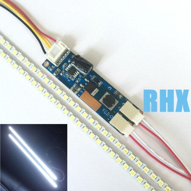 5 ชิ้น/ล็อตปรับขนาด LCD refit LED LCD 17192224 LED strip ใช้ด้านล่าง 15 24 นิ้ว 100% ใหม่