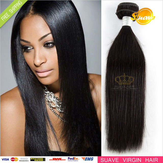 High Quality 100% Unprocessed 1pc Indian Virgin Hair Weft Cheap 100g/pc Indian Straight human hair Remy Human Hair Extension