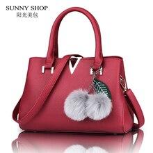 Sunny shop 2017 amerikanischen mode messenger-taschen hohe qualität pu leder umhängetaschen designer