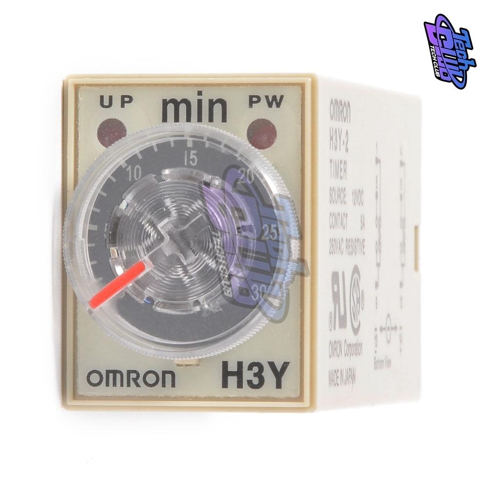 Omron H3Y-2 Timer Relay AC110V 30M