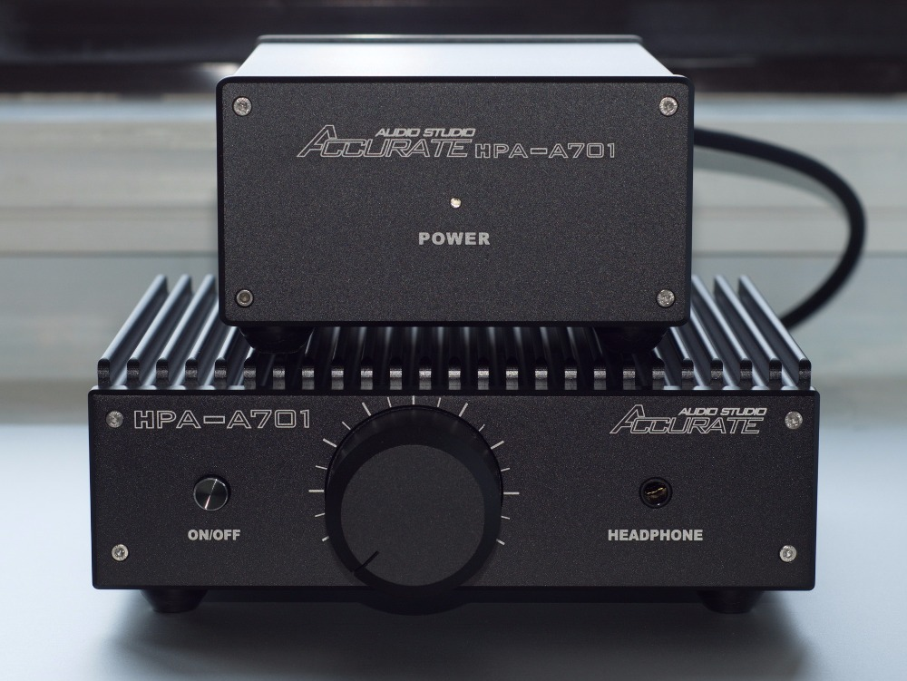 Pure Class A Headphone Amplifier Audiophile Stereo Amp Match AKG K701 Headsets