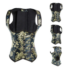 58511d8b27d mling Plus Size Sexy Steel Boned Underbust Waist Corsets And Bustiers  Embroidery