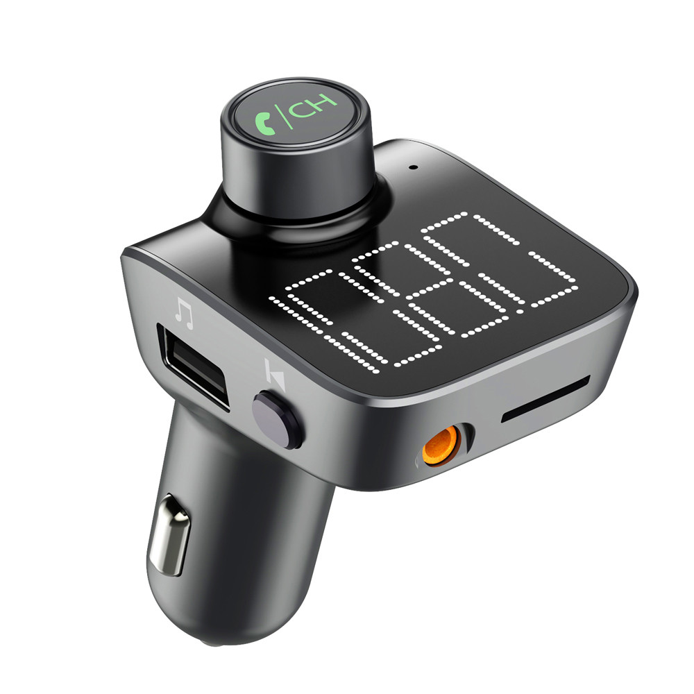 Auto Kit Hände freies Drahtlose Bluetooth FM Transmitter LCD MP3 Player USB 3.5mm AUX port Einzigartige Display Bildschirm MP3 Player -<font><b>20</b></font> image