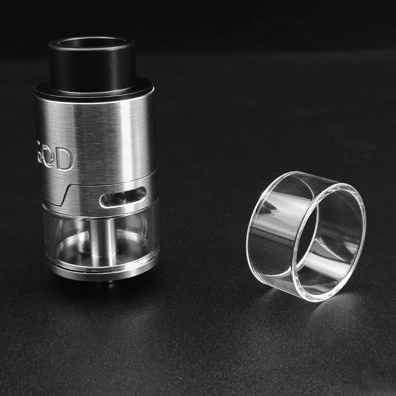 D'origine VapeSoon Remplacement tube en verre Pour VGOD Truc Por Réservoir Clair cuve de verre Emballage de Détail