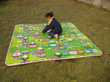 Baby Crawling Play Mats Ultra Thick Two Sided (Upto 3 Cm Thick)