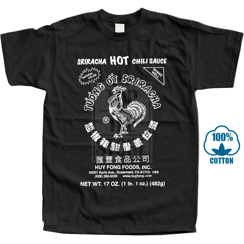 Sriracha Men'S Hot Chili Sauce   T     Shirt