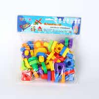 Frühen bildung puzzle kinder spielzeug Mutter demontage montage blöcke Mutter kombination Schraube zubehör spielzeug