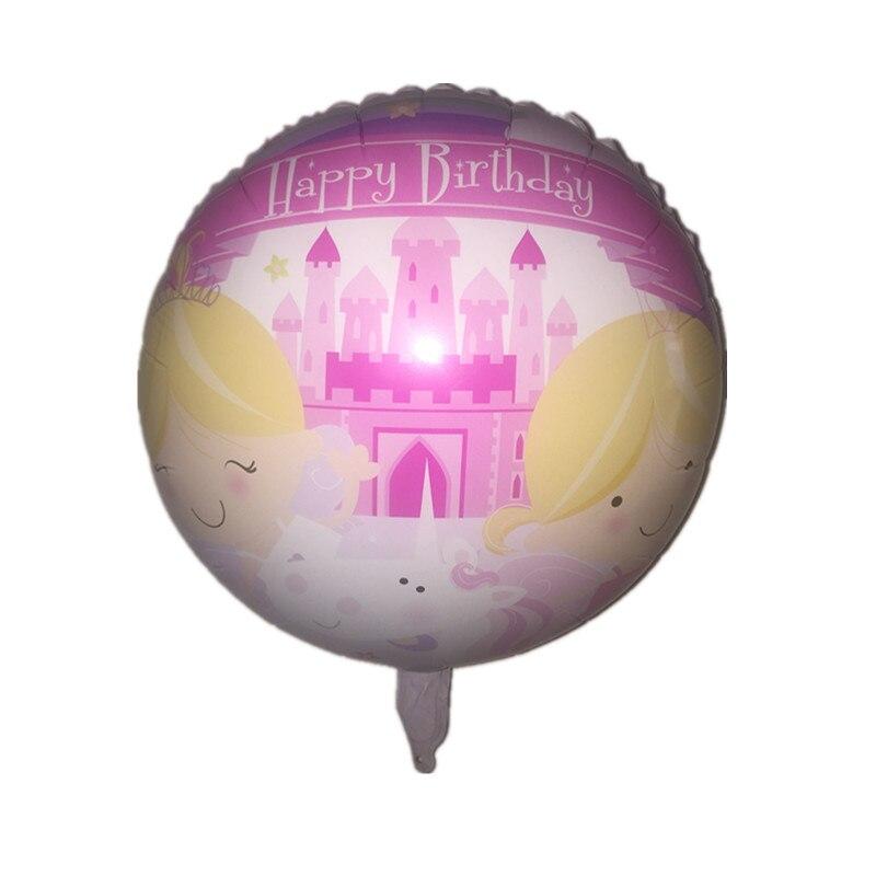 BINGTINA New Aluminum Foil Balloon Happy Birthday Balloons Decorated Children's