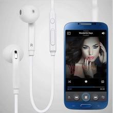3.5mm Wired Handfree fone de Ouvido Fone De Ouvido Fones de Ouvido fone de Ouvido Estéreo Fone de Ouvido Microfone para Samsung Galaxy S7 S6 Borda S5 S4 Nota 5 4 3