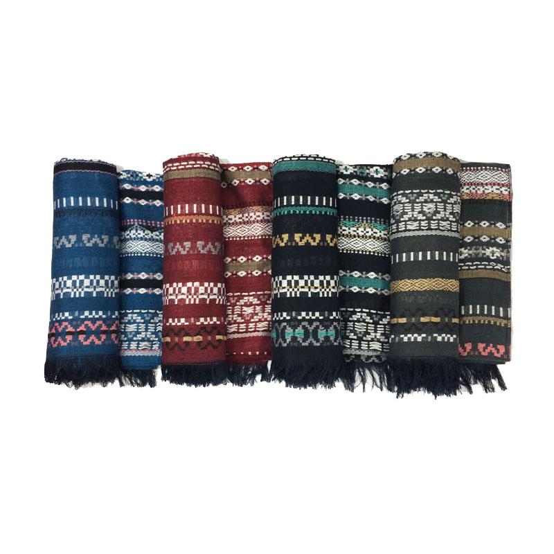 Ethnic Weaving Fringe Scarves | Blanket Scarves