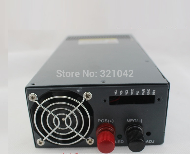 1000W 12V(15V 24V 48V) 80A 220V INPUT Single Output Switching power supply for LED Strip light AC to DC