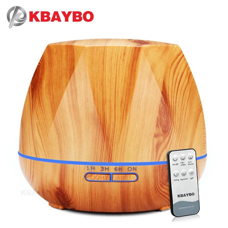 550 ml Humidificateur D'air Huile Essentielle Diffuseur À Ultrasons Humidificateur à vapeur Froide LED Night Light pour Home Office Chambre Salon
