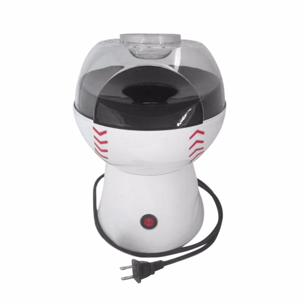 110V / 220V Operation Household Popcorn Machine Electric Hot Air Popcorn Maker Machine US EU Plug Home DIY Popper Making Device salter air fryer home high capacity multifunction no smoke chicken wings fries machine intelligent electric fryer