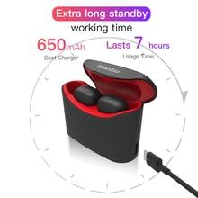 Bluedio T-elf mini Air pod Bluetooth 5.0 Sports True Wireless Earphone  with charging box