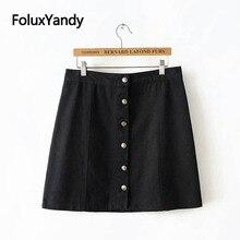 Casual Pencil Skirts Women Mini Slim Plus Size Black Skirt XXXL 4XL 5XL KKFY2810 gbwd black 4xl
