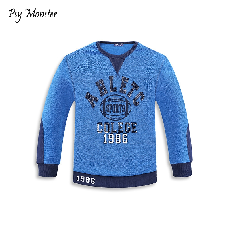Teenage Autumn Spring T-shirt Boy Clothes Long Sleeve School Student Boys pullover sports sweatshirts designer baby Clothes T1