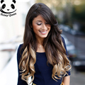 7A Ombre Full Lace Human Hair Wigs For Black Women European Full Lace Front Wigs 1B/4/27 Blonde Wig Straight Human Hair Wigs