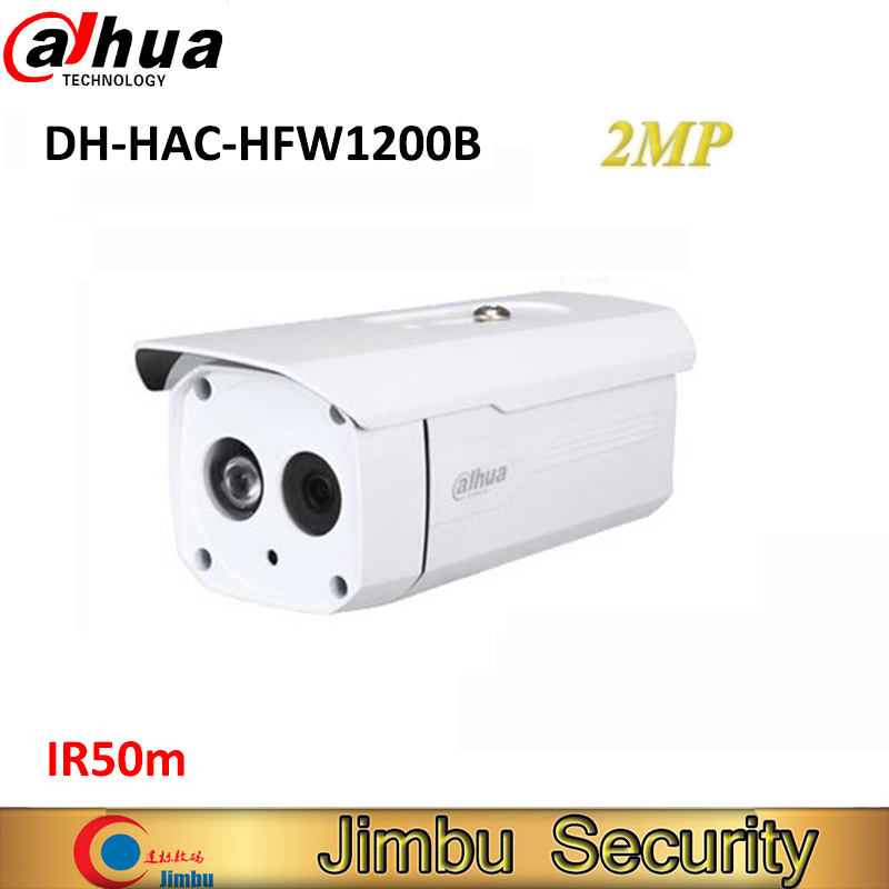 DAHUA CMOS 1080P HDCVI Bullet Camera HAC-HFW1200B 1/3 2MP IR 50M IP66 DH-HAC-HFW1200B security camera dahua camaras de seguridad dahua hdcvi dome camera 1 2 7 2megapixel cmos 1080p ir 40m ip66 dh hac hdw1200e a security camera