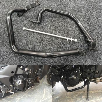 Per Kawasaki Z1000 10-16 anni coperchio laterale del motore modificato di fissaggio bar anti-smash bar telaio di protezione del motore di sicurezza telaio