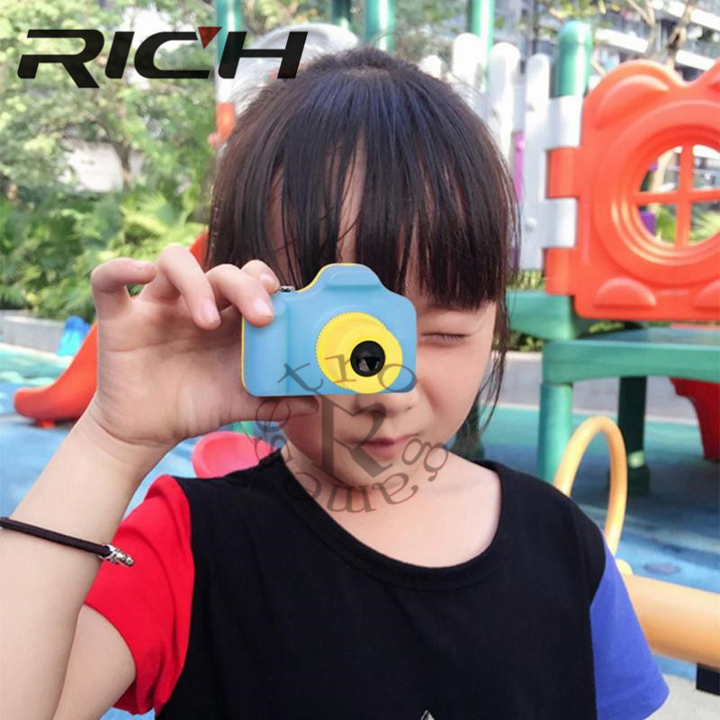 1.77Inch 32GB Digital Camera Kids Baby Full Color Mini LSR Cartoon Camcorder Video Recorder Support TF Card 4640*3680 1